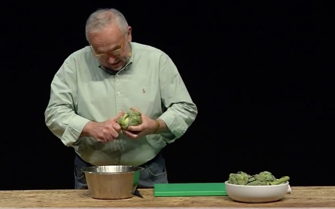 How to Clean an Artichoke in 20 Seconds